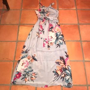 Anthropologie Leifsdottir Floral Maxi Dress Size 4